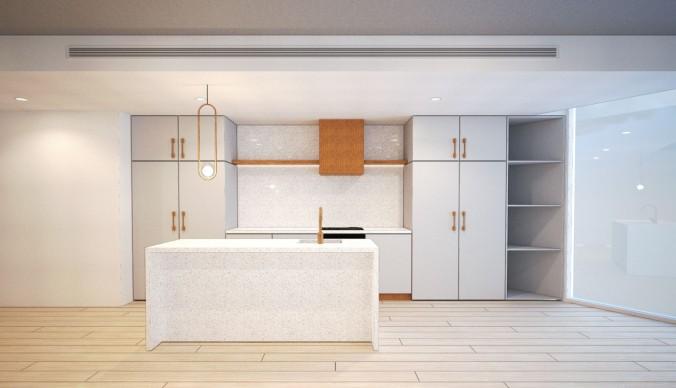 20 Blessington St St Kilda - Kitchen 05 - Render