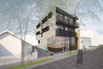 05 20 Blessington St St Kilda - Building facade - Render
