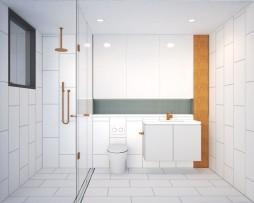 20 Blessington St St Kilda - Bathroom 06 - Render
