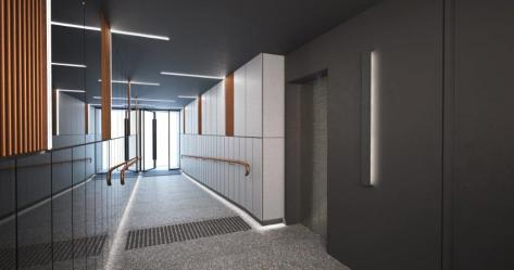 20 Blessington St St Kilda - Foyer View 03 - Render