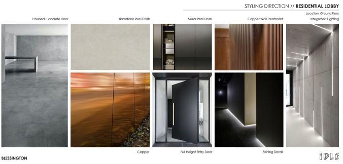 20 Blessington St St Kilda - Styling Direction - residential lobby - Blessington