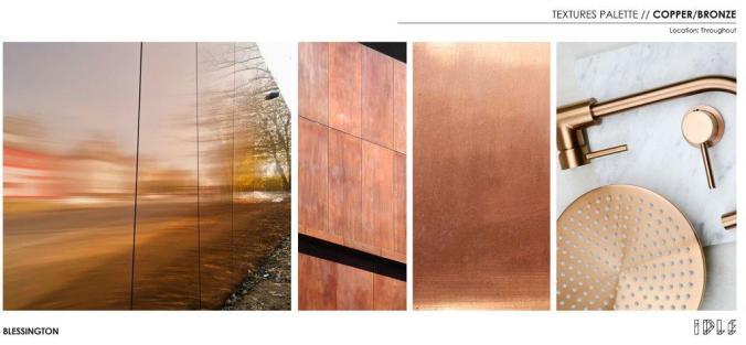 20 Blessington St St Kilda - Textures Palate - Copper & Bronze - Blessington