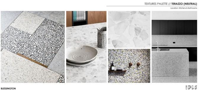 20 Blessington St St Kilda - Textures Palate - Terazzo - Blessington