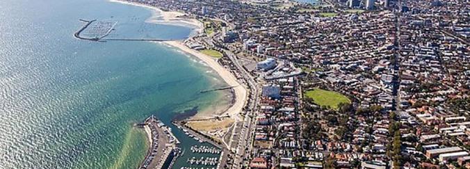 australia-victoria-melbourne-st-kilda-marina-port-phillip-aerial-view-of-city-by-bay-brett-price