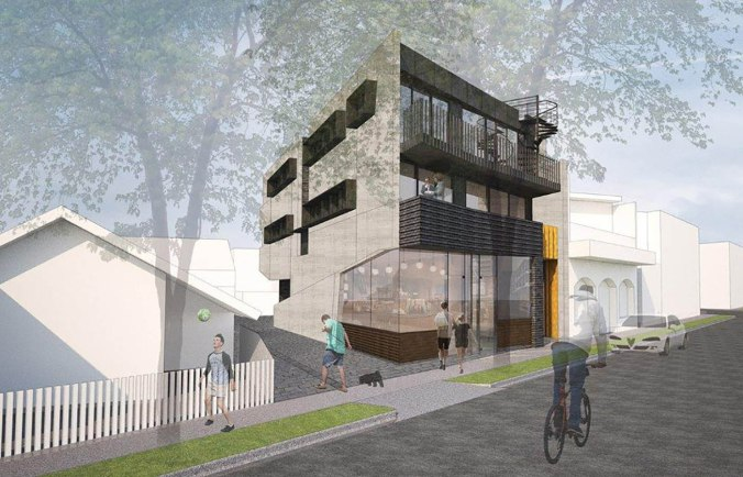 000 20 Blessington St St Kilda - Building facade - Render