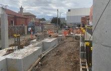 St Kilda apartment building construction, week 3
