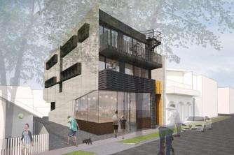 03 20 Blessington St St Kilda - Building facade - Render
